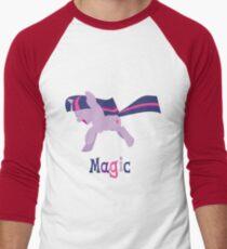 Twilight Sparkle - Magic Men's Baseball ¾ T-Shirt