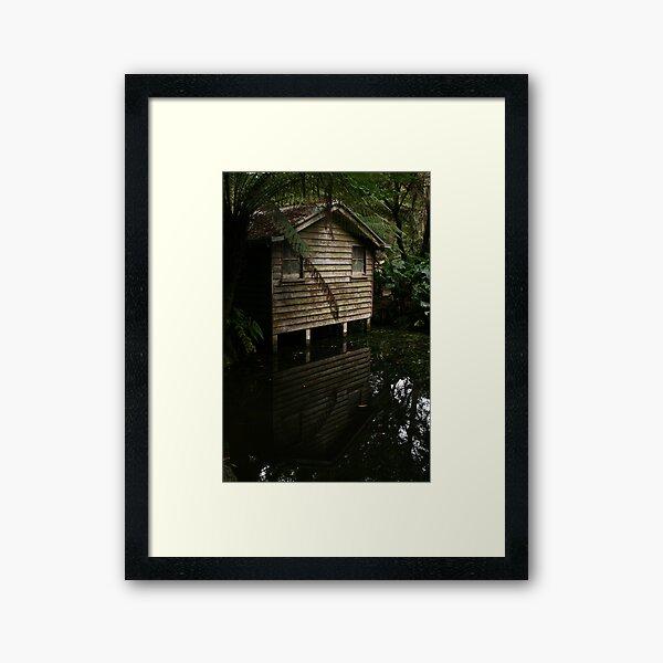 The Boatshed, Alfred Nicholas Garden Framed Art Print