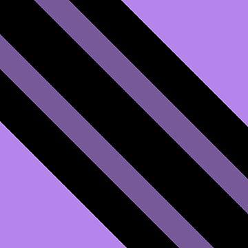 Purple Stripes by Zeeph