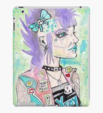 Punk Rock Girl iPad Case/Skin