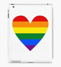 LGBT heart iPad Case/Skin