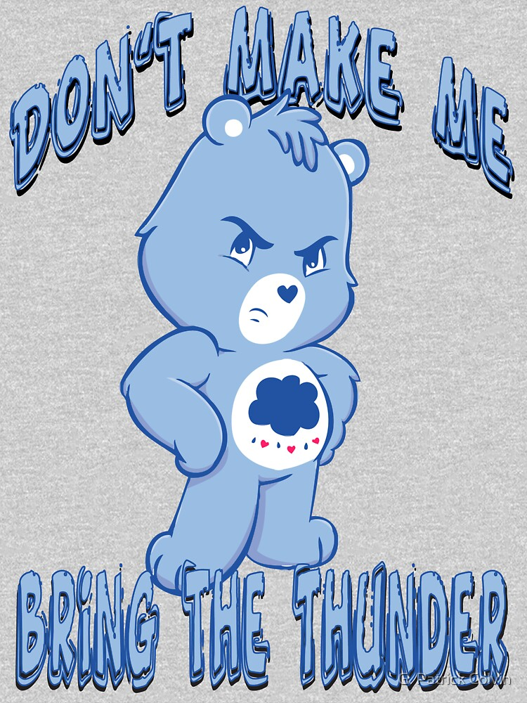 Grumpy Care Bear - Bring the Thunder | Unisex T-Shirt