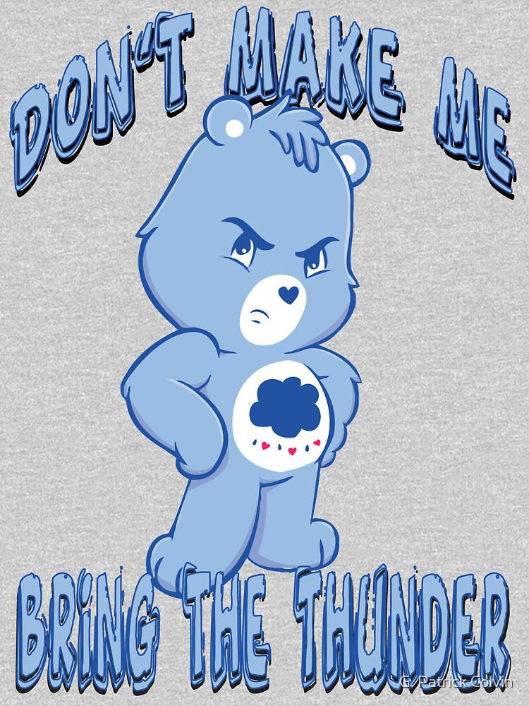 TShirtGifter presents: Grumpy Care Bear - Bring the Thunder | Unisex T-Shirt