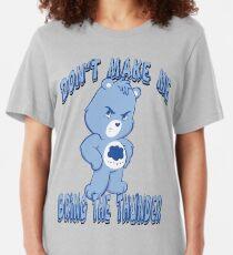 Grumpy Care Bear - Bring the Thunder Slim Fit T-Shirt