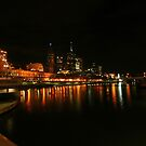 Yarra by Night, Melbourne by Leigh Penfold