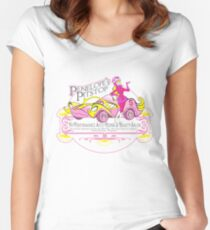 Penelope Pitstop - Penelope's Pitstop T. Women's Fitted Scoop T-Shirt