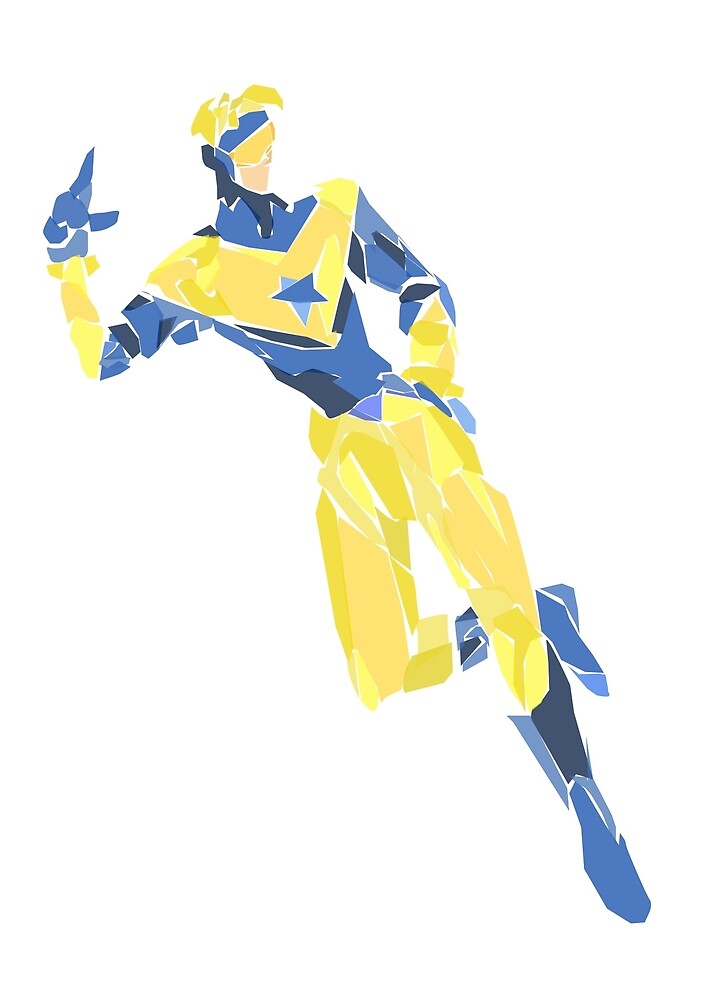 Booster gold by newtegan