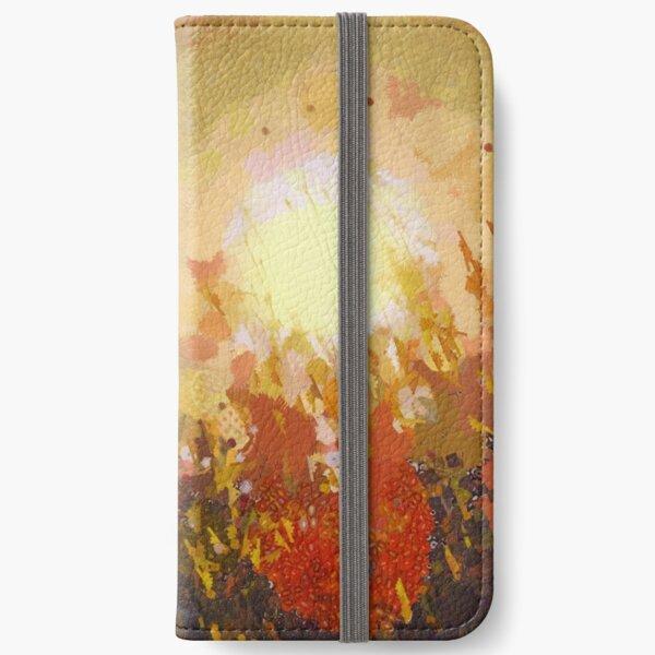 Autumn Sun iPhone Wallet