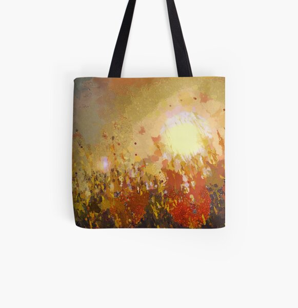 Autumn Sun All Over Print Tote Bag