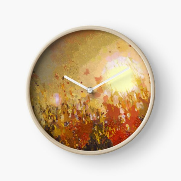 Autumn Sun Clock