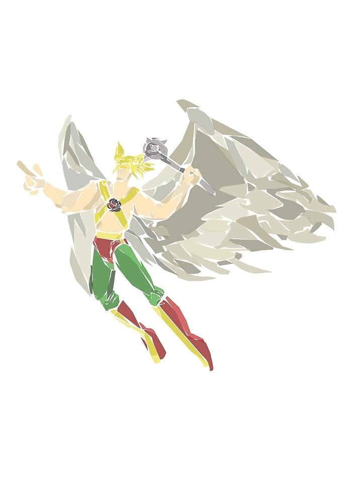 Hawkman by newtegan