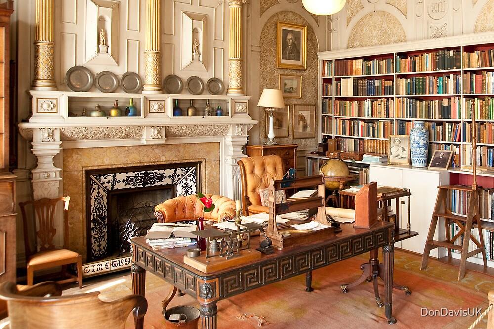 Scotney Castle: The Library by DonDavisUK