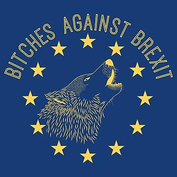 B * tches Contra Brexit Amarillo de jpearson980