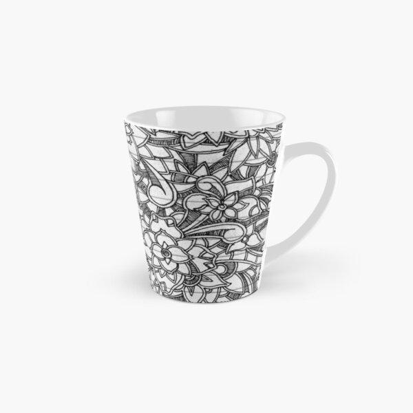 Floral Doodle Tall Mug