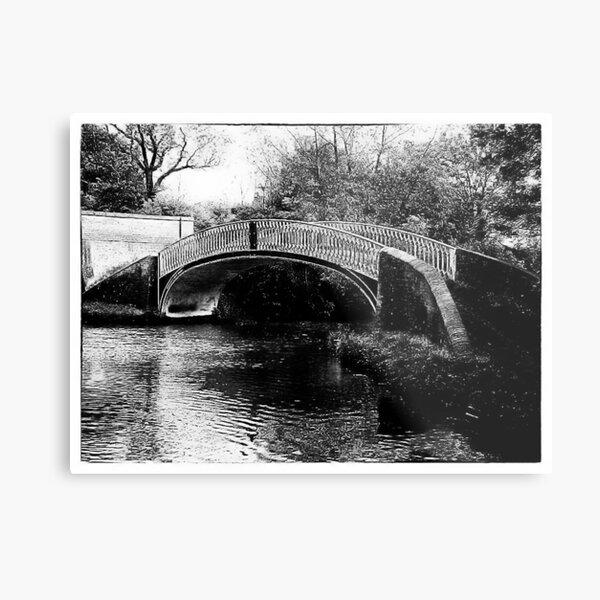 Brinklow Arm Bridge, North Oxford canals Metal Print