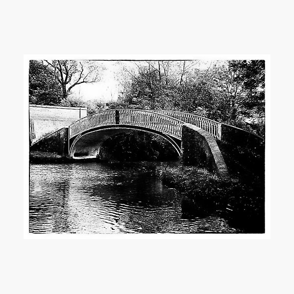Brinklow Arm Bridge, North Oxford canals Photographic Print
