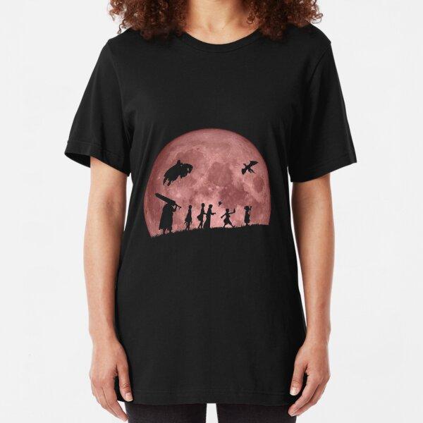 Fellowship of the Berserk (moon version) Slim Fit T-Shirt