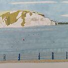 Swanage Bay auf der Primary School Art Trip von AndyKnillArt