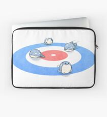 Curling Spheal Laptop Sleeve