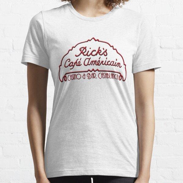 Casablanca - Rick's Cafe Americain Camiseta esencial