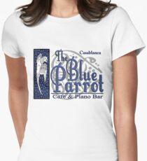 Casablanca - The Blue Parrot Women's Fitted T-Shirt