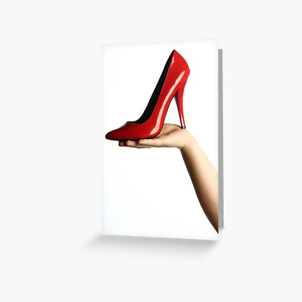 The shoe Greeting Card