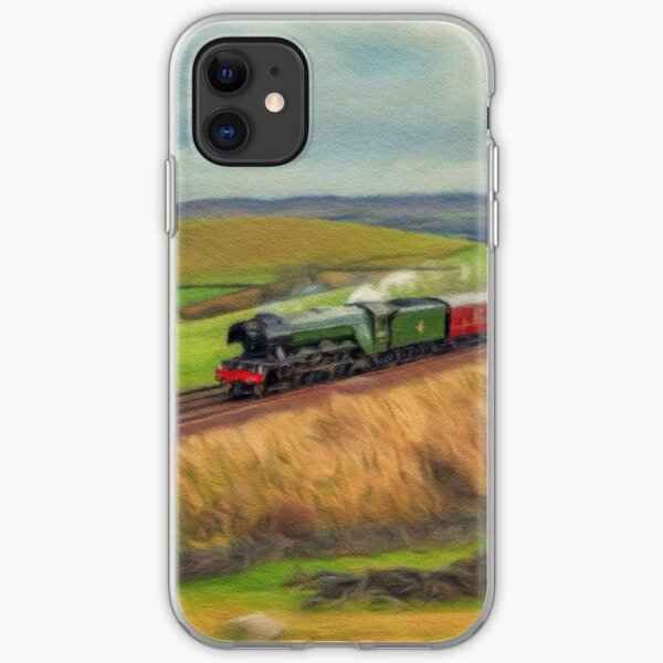 The Flying Scotsman Locomotive iPhone Soft Case