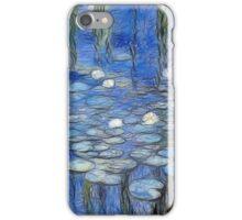 water lilies a la Monet iPhone Case/Skin