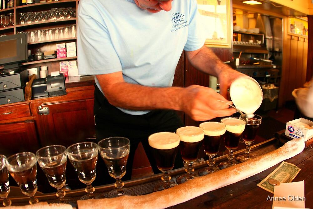 Irish Coffee Creation by Annee Olden
