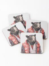 Black Bear Coasters