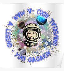 Yuri Gagarin, Universalheld Poster