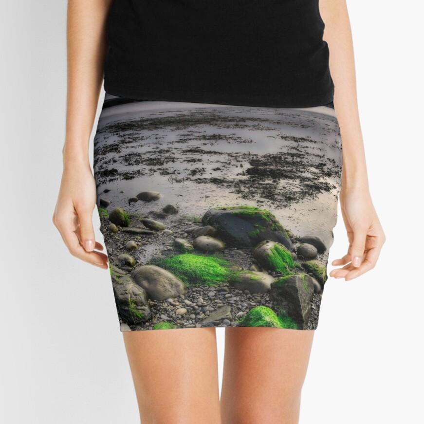 Eternal Sunset Mini Skirt Front