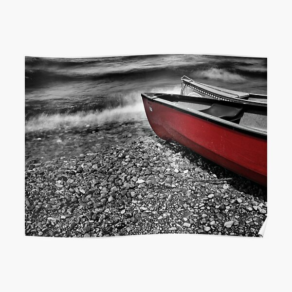 Red boat Poster