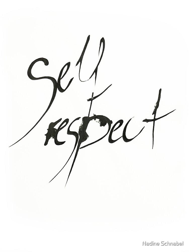 Self Respect von Nadine Schnabel