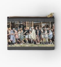 Swimsuit Parade, Seal Beach, California July 14th 1918 Zipper Pouch