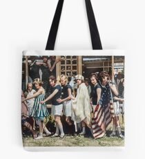 Swimsuit Parade, Seal Beach, California July 14th 1918 Tote Bag
