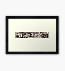 Swimsuit Parade, Seal Beach, California July 14th 1918 Framed Print