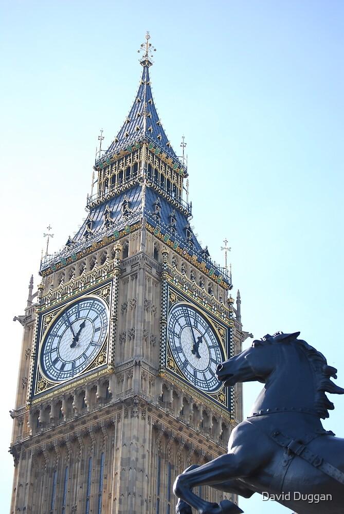 London Big Ben by David Duggan