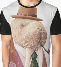 Walross Grafik T-Shirt