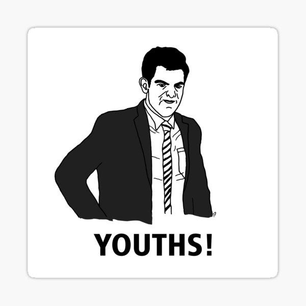 Youths Sticker