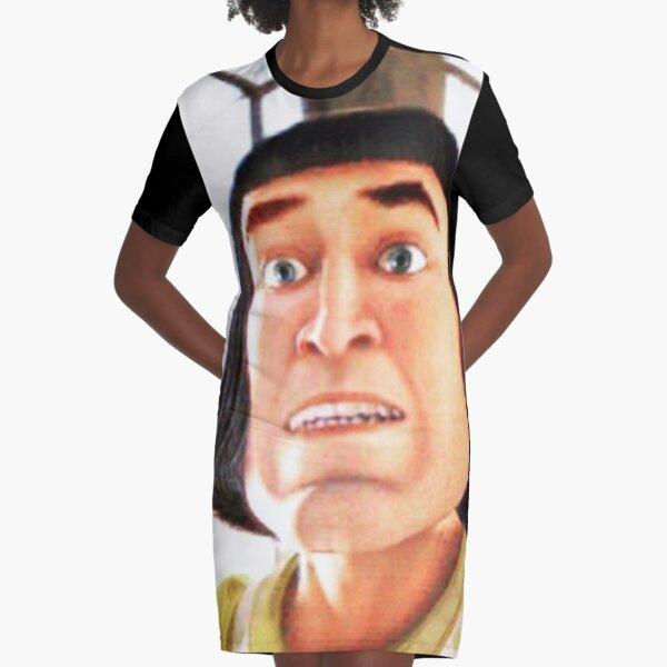 farquaad uwu Graphic T-Shirt Dress