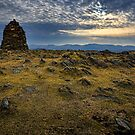 High Spy Cairn, Cumbrian Mountains by David Lewins
