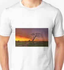 """Last Light At The Rocks"" T-Shirt"