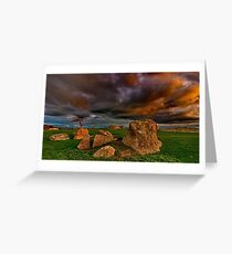 """""""Tempest At The Rocks"""" Greeting Card"""