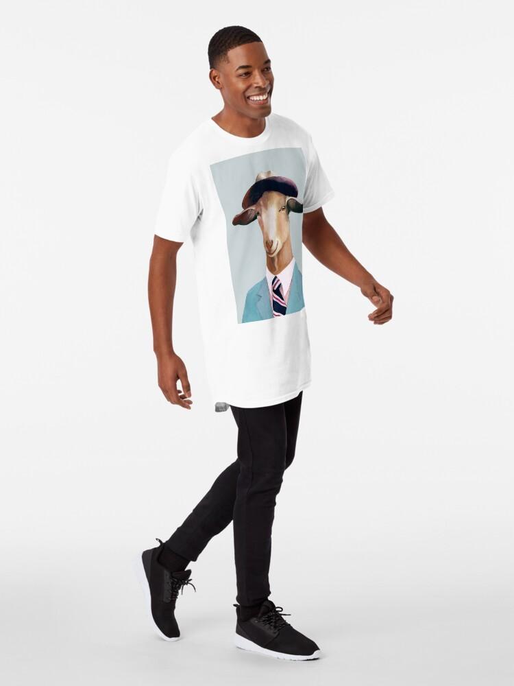 Alternate view of Goat Long T-Shirt