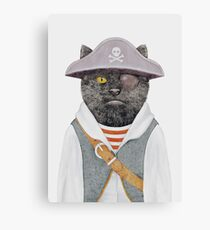 Lienzo Gato pirata