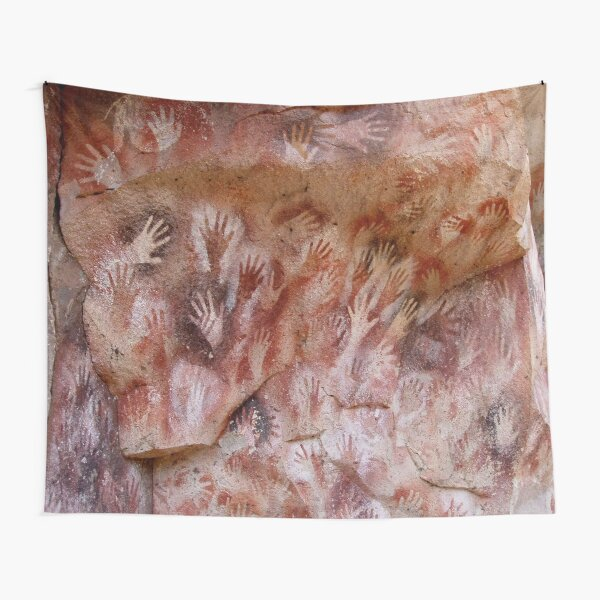 #Cave #painting, #parietal #art, paleolithic cave paintings Tapestry