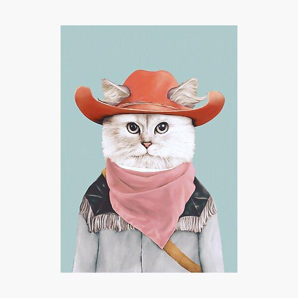 Rodeo Cat Photographic Print