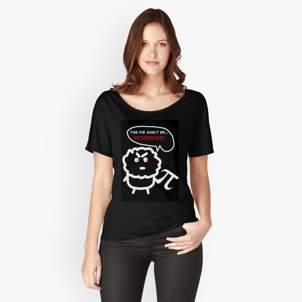 Muffins Who Don't Like Pi  Women's Relaxed Fit T-Shirt Front