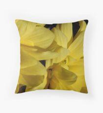 Buttery Throw Pillow